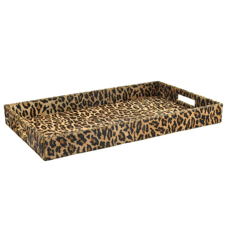 Jamie Young Leopard Tray