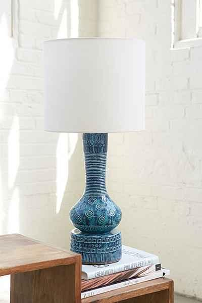 Assembly Home Claus Turquoise Lamp Base