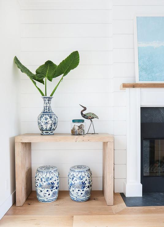 Console Table Next To Fireplace