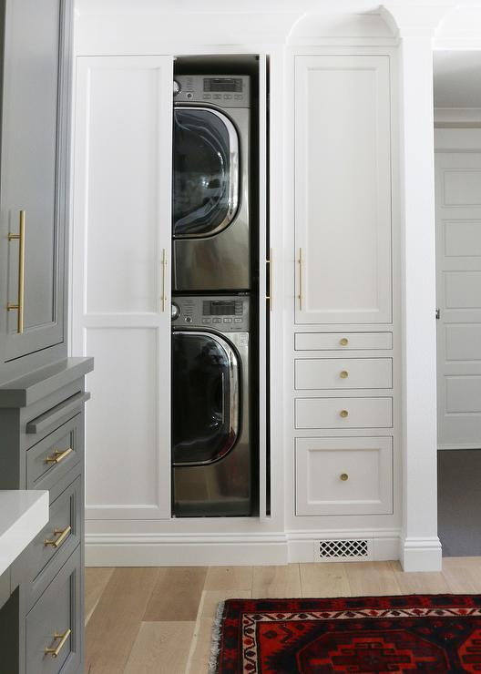 Hidden Washer And Dryer Design Ideas