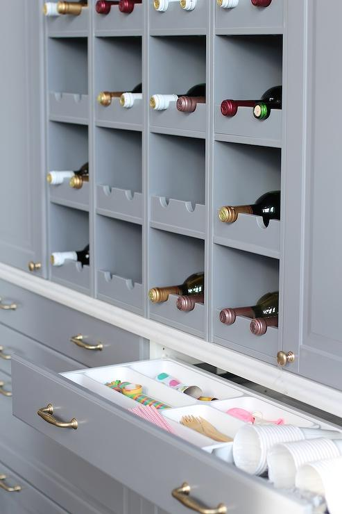 Built in wine rack design ideas for Wine rack built in