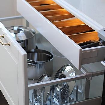 Lit Cutlery Drawer