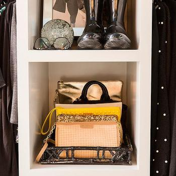 Closet With Open Shelving