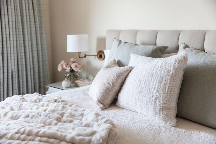 Swell Beige Tufted Headboard Design Ideas Largest Home Design Picture Inspirations Pitcheantrous