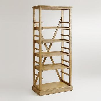 Campaign Bookshelf - Bookcases and File Cabinets - Cost ...