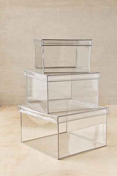 & Clear Looker Storage Box
