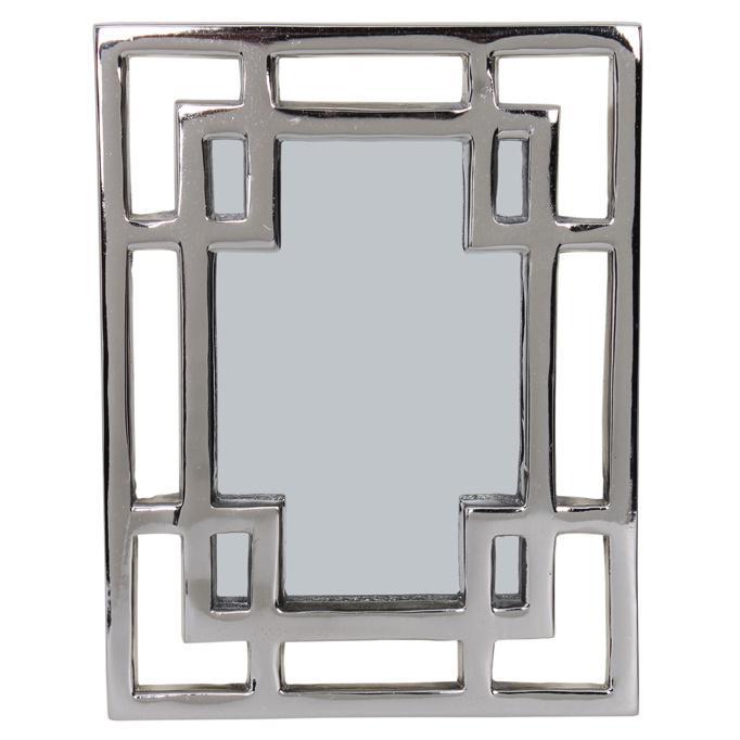 Greek Key Wall Decor : Greek key design wall mirror