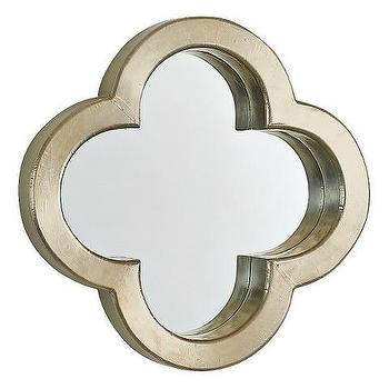 Decorative Wall Profile Clover Mirror