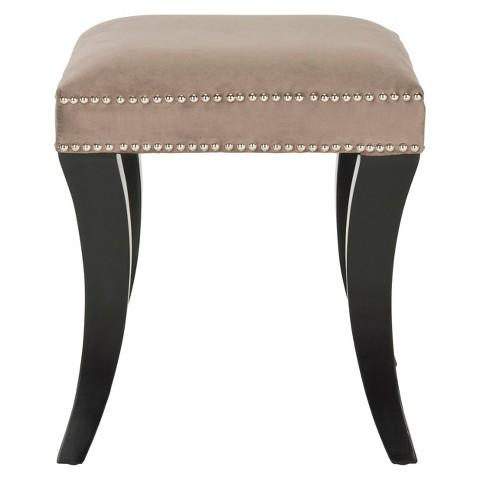 Enjoyable Safavieh Sydney Tan Ottoman Gmtry Best Dining Table And Chair Ideas Images Gmtryco