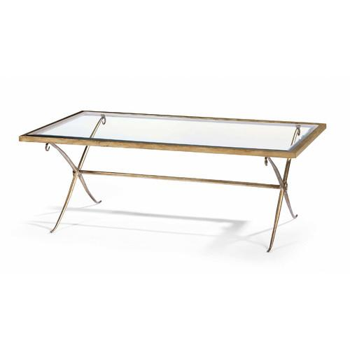 tables - gold frame coffee table