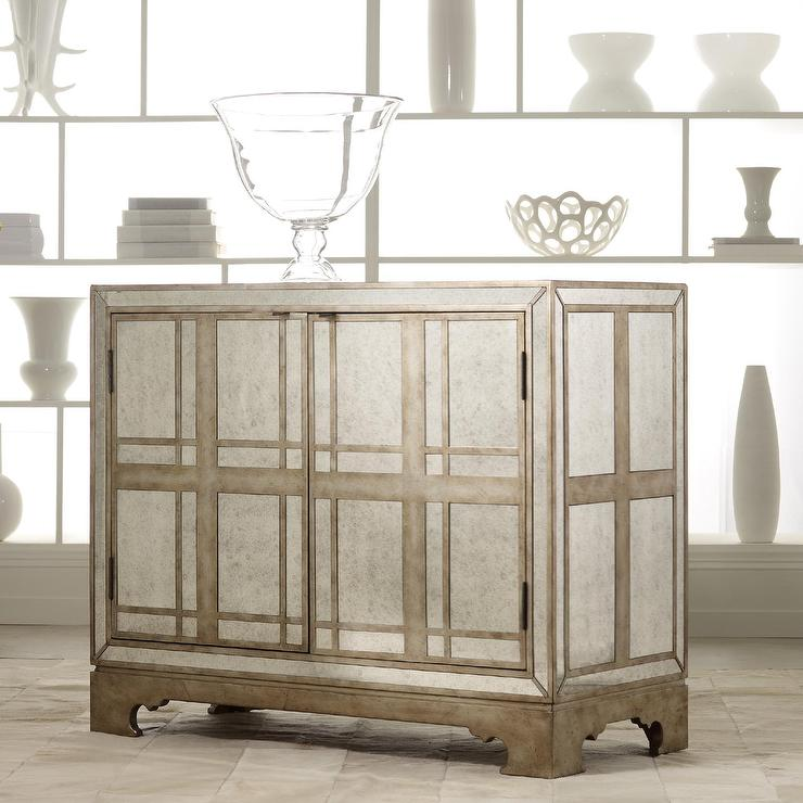 Hooker Furniture Melange Mirrored Gold Sideboard