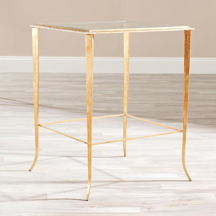 Safavieh John Gold End Table