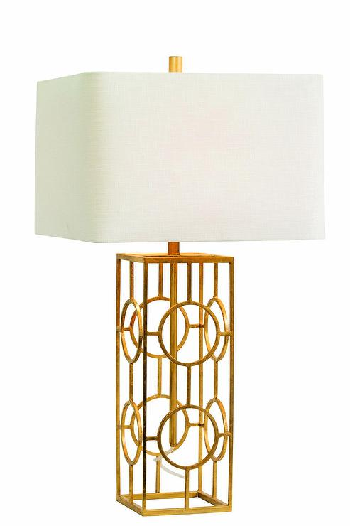 Brentwood gold table lamp design by couture lamps aloadofball Images