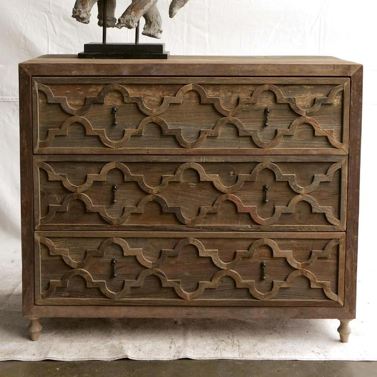 Creative Co Op Morocco Recycled Elm Brown Sideboard