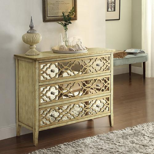 Coast To Imports 3 Drawer Natural Dresser
