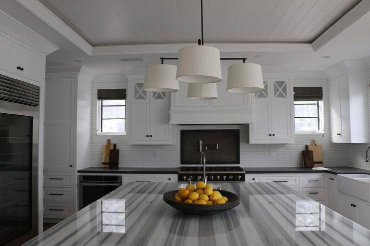 Delano Marble Transitional Kitchen