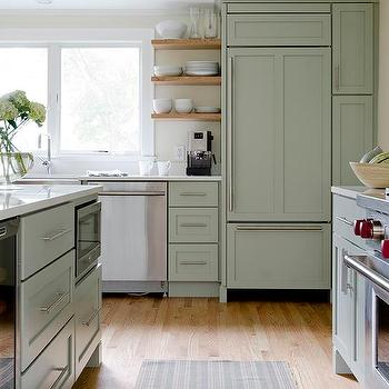 Sage Green Kitchen Cabinets