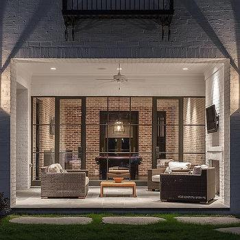 White Brick Patio