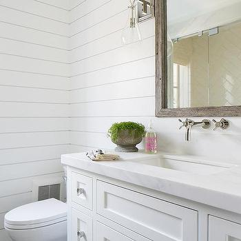 Guest Bathroom Shiplap Design Ideas