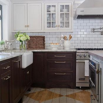 Dark Grey Cabinets Gold Pulls Design Ideas