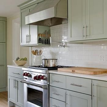 High Quality Sage Green Cabinets