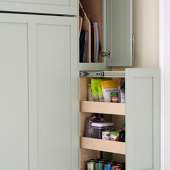 Pull Out Vertical Pantry Cabinet