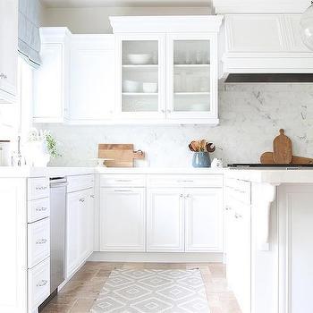 White Kitchen Rug blue kitchen runner design ideas