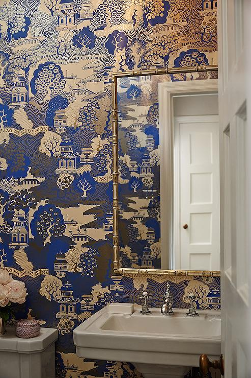 Curtains Ideas chinoiserie curtains : Chinoiserie Wallpaper Design Ideas