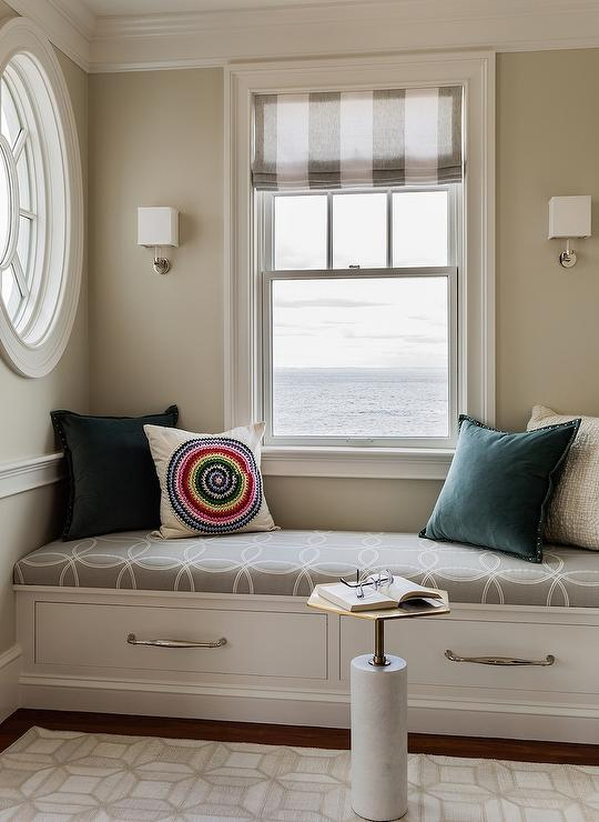 Interior design inspiration photos by jennifer palumbo Window seat reading nook
