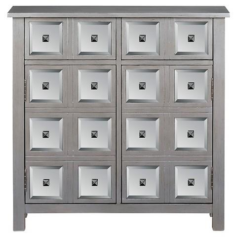 Samuel Lawrence Grey Cabinet With Doors