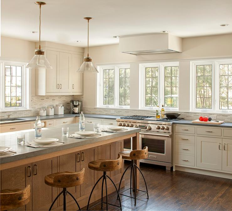 Welcoming White Kitchen Is Illuminated By Regina Andrew: Design, Decor, Photos, Pictures, Ideas