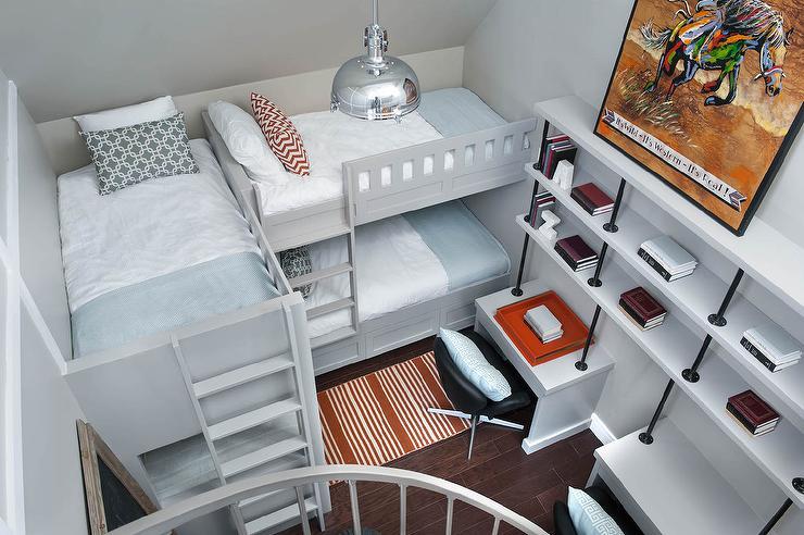 L Shaped Bunk Beds Design Ideas