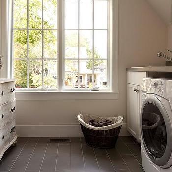 Laundry Room Sloped Ceiling Design Ideas