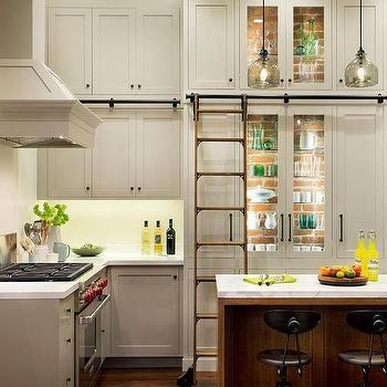 Vintage Glass Front Cabinets Design Decor Photos