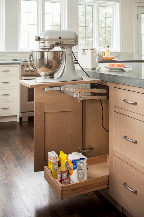 Lift Up Kitchen Mixer Shelf