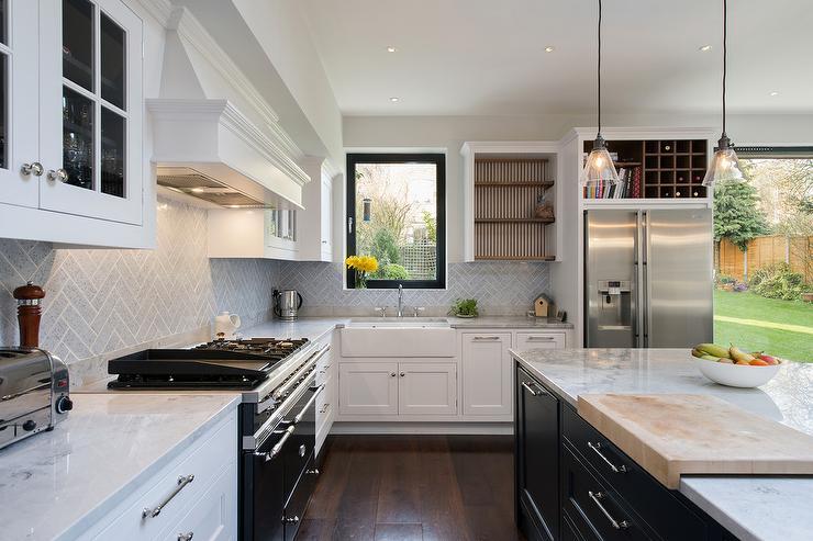 Cookbook Shelf And Wine Rack Over Fridge