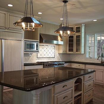 White Kitchen Cabinets With Tan Granite Countertops Design Ideas