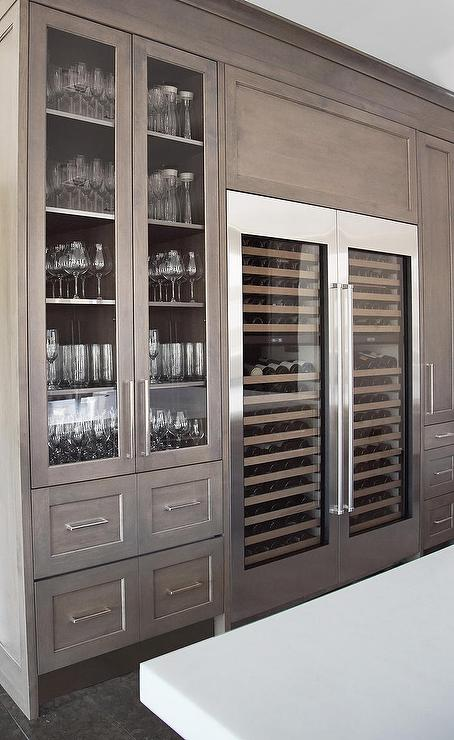 Side By Side Wine Coolers - Contemporary - Kitchen