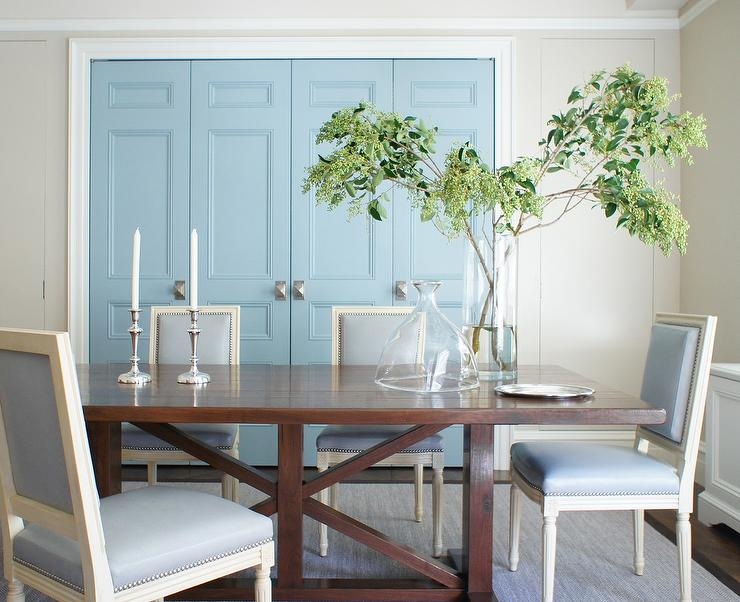 Blue Dining Room Design