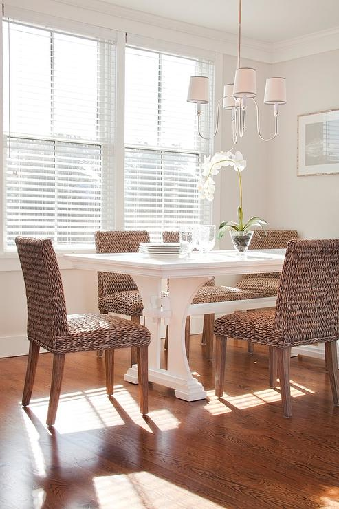 Rectangular dining table design ideas - Cottage dining room table ...