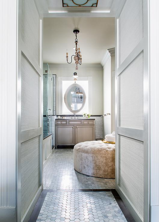 Master Bathroom Narrow long and narrow master bathroom design ideas