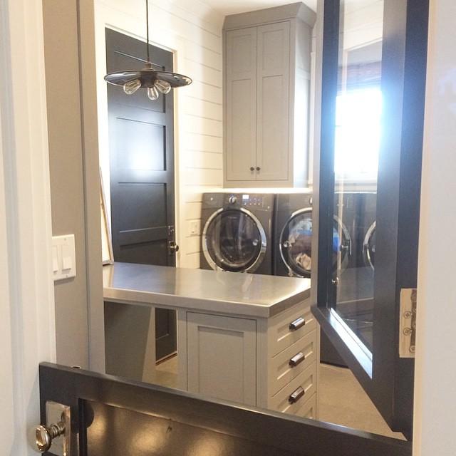 Laundry Room Barn Doors Design Ideas