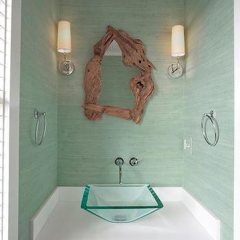 mint green bathroom walls transitional bathroom