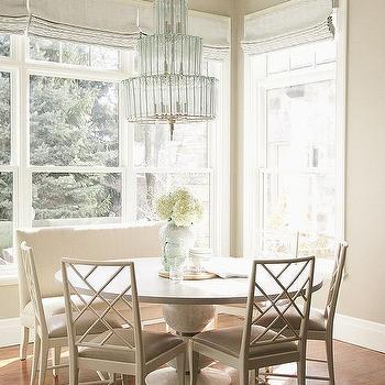 Monochromatic Breakfast Room
