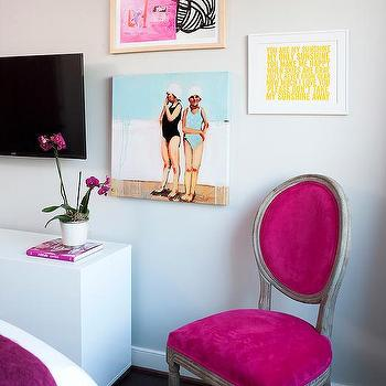 Pink French Chair Design Ideas