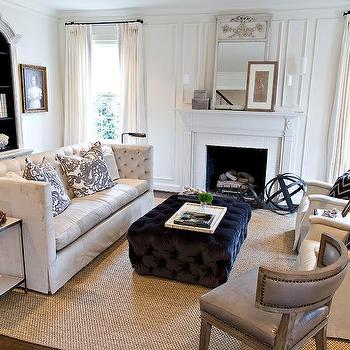 White High Back Sofa Design Ideas