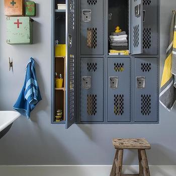 Industrial Kids Bathroom Design