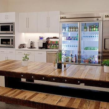 Long Plank Dining Table Design Ideas