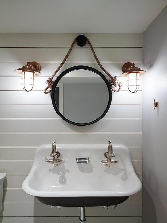 Coastal Bathroom Wall Sconces : Paint Gallery - Benjamin Moore Stonington Gray - Paint colors and brands - Design, decor, photos ...