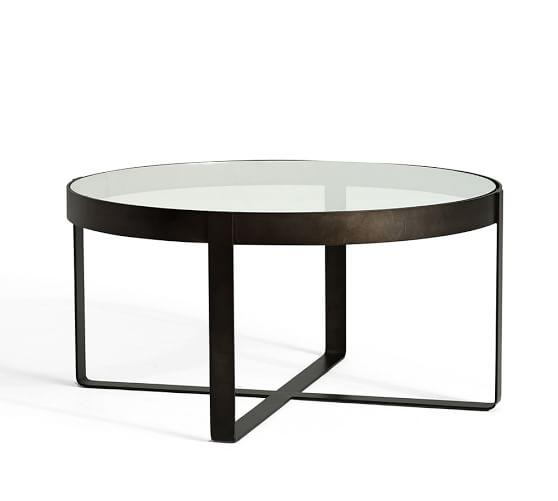 Portland Gun Metal Coffee Table